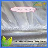 Couverture de matelas imperméable à l'eau de Terry de polyester du coton 20% de 80%