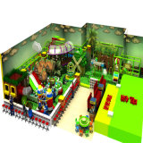 Niños Amusement Equipment Forest Indoor temático Playground con Big Slide