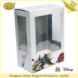 Коробка подарка картона упаковывая с UV окном (JHXY-PP0006)