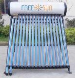 2016 nuevo tipo calentador de agua solar de la presión