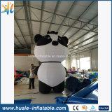 大きくかわいい広告のパンダ膨脹可能な動物モデル、漫画モデル