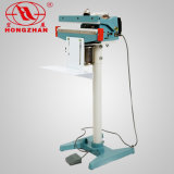 Máquina selladora de película Sellador de pedales Bolsa de plástico y laminadora Manual de doble cara Equipo de sellado térmico para alimentos y bocadillos