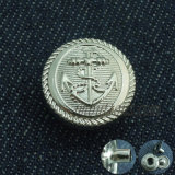 習慣のタイプニッケルの金属はコートのためのボタンを止める