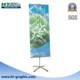 Soporte de aluminio de la bandera del estante del cuadro de la pared