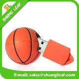 Movimentação personalizada de borracha do flash do USB do PVC do presente relativo à promoção (SLF-RU019)