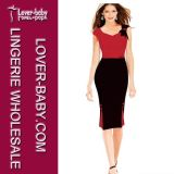 Ol Frauen-Dame-Büro-Kleid-Kleidung (L36070-2)