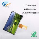 7 разрешение дюйма 1024 (RGB) X600 TFT LCD