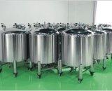 Tanque asséptico aprovado do aço inoxidável de produto comestível do GV de China