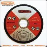 колесо выключения дисков вырезывания металла T41 115mm истирательное с MPa En-12413