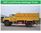 新しい4X2 Self Load Dump Garbage Truck