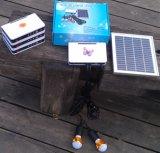 Nécessaires d'éclairage LED de système solaire avec des ampoules de 2PCS 1W DEL avec le chargeur d'USB