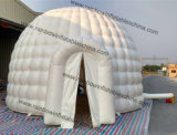 Neuer Durable Hot Sale Durchmesser 6m White Inflatable Igloo Tent