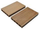 Decking compuesto plástico de madera con el suelo barato al aire libre/de interior de la alta calidad de WPC