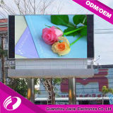 P10 Pantalla LED al aire libre Video en pared Edificio