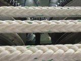 волокно 12-Strand Ropes веревочка нейлона веревочки полиэфира веревочки PP веревочки зачаливания