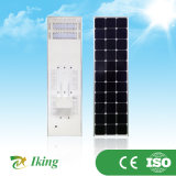 3W-60W lúmen elevado todo em uma luz solar Integrated solar do jardim da luz de rua
