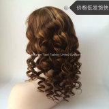 """7A perruques de face #4/#27 de lacet de guerre biologique du cheveu chinois humain 24 """""""