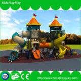 Campo de jogos ao ar livre dos jogos do equipamento do divertimento do esporte dos miúdos