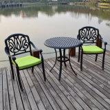Im Freiengarten-Möbel-einfache Muster-Gussaluminium-Patio-Möbel