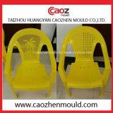 금속 다리를 가진 플라스틱 무방비 의자 형