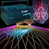 Laser a todo color del arco iris de la animación de la luz laser del disco