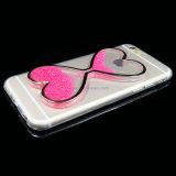 Geval van de Telefoon van de Cel van het Hart van het Zand van de Prijs van de fabriek het Kleurrijke Snelle voor iPhone 5/6