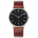 O relógio novo de quartzo do estilo 2016, forma o relógio Hl-Bg-089 do aço inoxidável