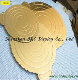 Mono Gold and Silver Cake Boards, Cake Boards, Square, Round, Heart Shape for Choosing (B & C-K080)