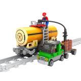 Het Stuk speelgoed van het Onderwijs van de Trein van de Kinderen van Bouwstenen (H0268589)