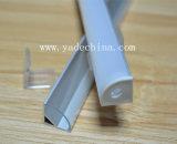 La petits Manche/extrusion/profil en aluminium faisants le coin pour la bande du boîtier DEL - 16 x 16mm