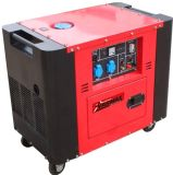 6.5kVA 192f Engine Powered Air Cooled Silent Diesel Generator
