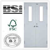 HighqualityのUL Double Steel Fire Door/Fire Rated Door