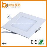 Ultrathin LED 위원회 램프 점화 사각 빛 홈 공장 홍조 천장 (Ce/RoHS/FCC, 3years 보장)