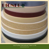 1X22mmの家具のための木製の穀物PVC端バンディング