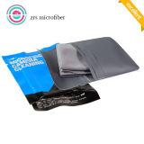 Tissu de nettoyage en gros en verre de Microfiber Microfiber essuyant le fournisseur de la Chine de tissu