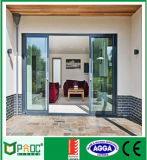 Австралийская стандартная раздвижная дверь двойной застеклять алюминиевая