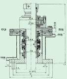 압축기 (206)를 위한 고무 물개 카트리지 기계적 밀봉