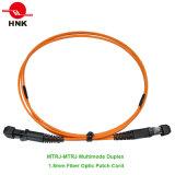 Шнур заплаты оптического волокна MTRJ двухшпиндельный однорежимный мультимодный