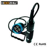 Lampe-torche 120m sous-marin de plongée des lumens DEL de Hoozhu Hu33 4000