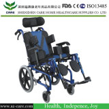 Sedie a rotelle molli dell'acciaio della sede dei bambini