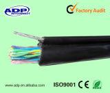 Multi cabo de telefone subterrâneo do gato 3 aéreos dos pares com fio de mensageiro