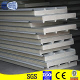 el panel de emparedado de la PU del acero inoxidable de la fábrica para la azotea