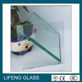 異なった種類の端、穴の緩和されたガラス