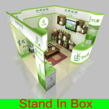 Cabine &Reusable souple portative faite sur commande d'exposition de salon en Chine