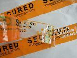カスタムロゴはタンパーの明白な無効の機密保護テープを印刷した; タンパーの証拠ボイドテープ