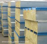 Сгущать изолированная пожаробезопасная панель крыши шерстей утеса подгонянная с хорошим ценой