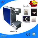 Mini máquina da marcação do laser da fibra com garantia bienal
