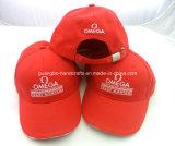 Coton 100% 6 casquettes de baseball bon marché de panneau