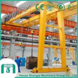 単一のGirderおよびDouble Girder Type Semi Gantry Crane