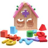 Figuras de aprendizaje exquisitas de madera juguete de los cabritos